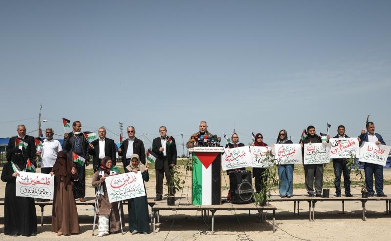 Filistin Toprak Günü Kovid-19 gölgesinde kutlandı