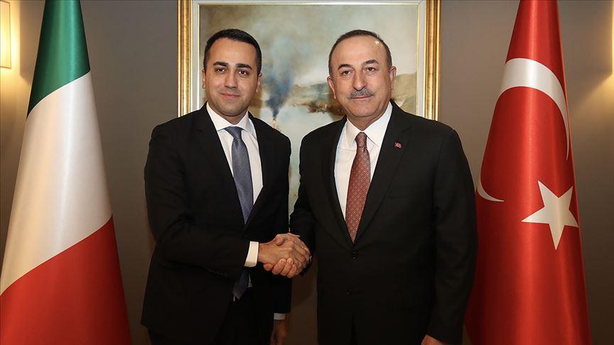 İtalya Dışişleri Bakanı Maio'dan Çavuşoğlu'na teşekkür telefonu