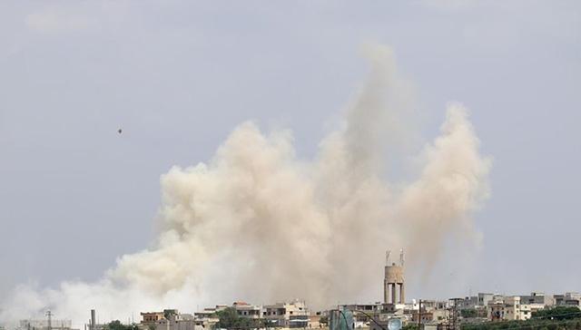 Esed rejimi, İsrail'in Suriye'ye hava saldırısı düzenlediğini iddia etti