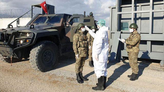 Barış Pınarı Harekatı bölgesinde koronavirüs tedbirleri