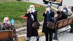 Kayseri'de karantinadaki umrecilerden 192'sinin tahliyesi tamamlandı
