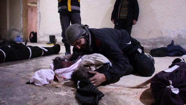 Suriye'de geçen ay 145 sivil can verdi