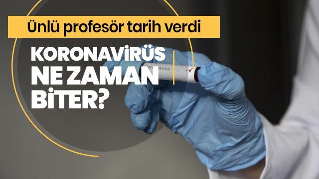 Koronavirüs ne zaman biter?