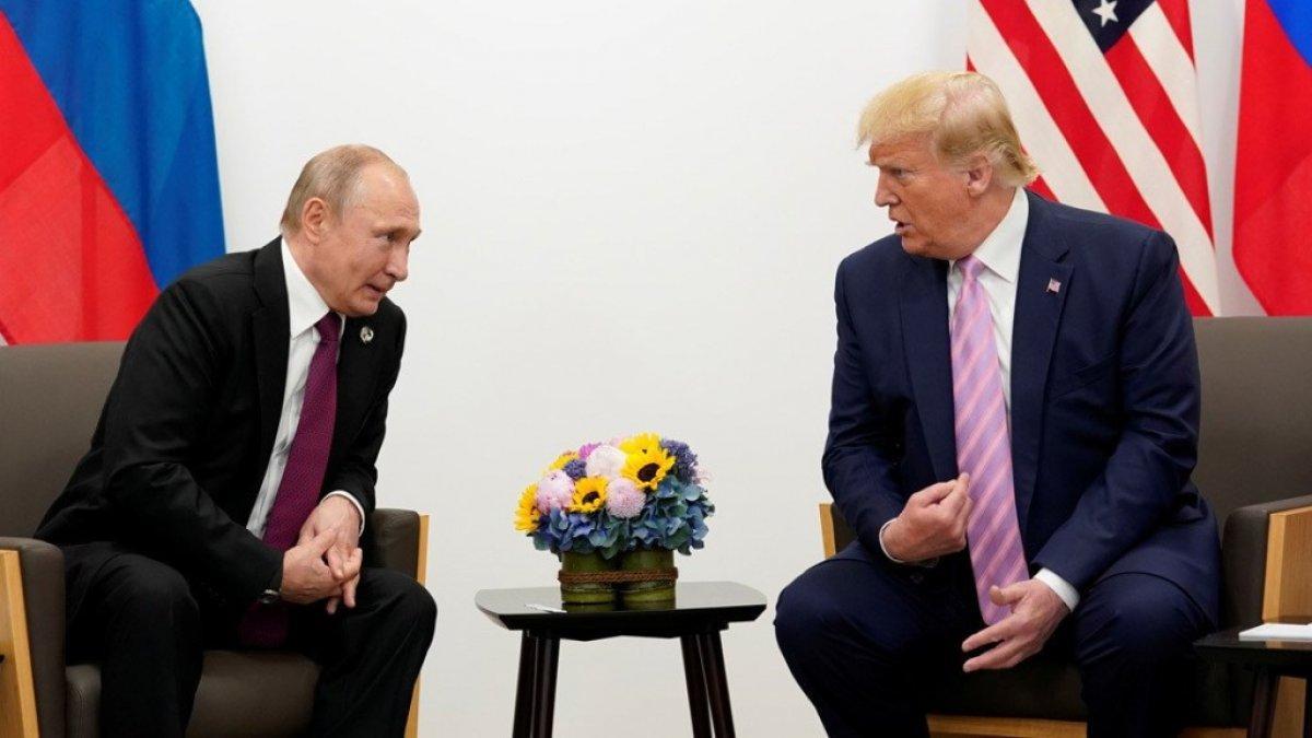 Trump, Putin'in korona yardım teklifini kabul etti
