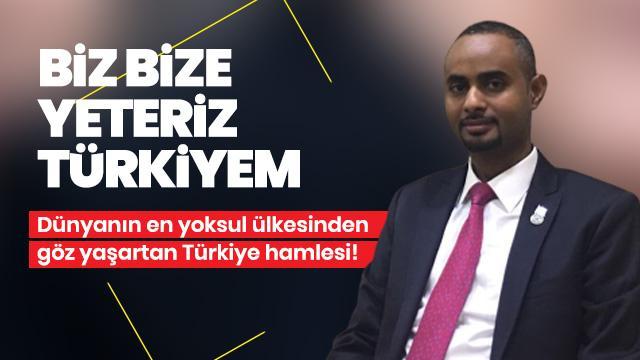 """""""Biz Bize Yeteriz Türkiyem"""" kampanyasına göz yaşartan destek"""