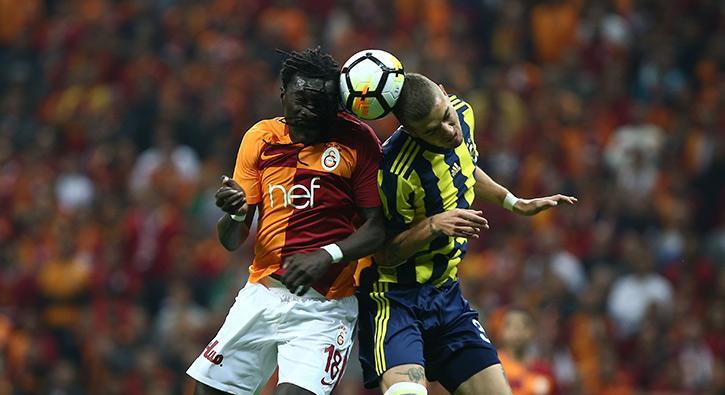 Galatasaray - Fenerbahçe derbisinden görüntüler