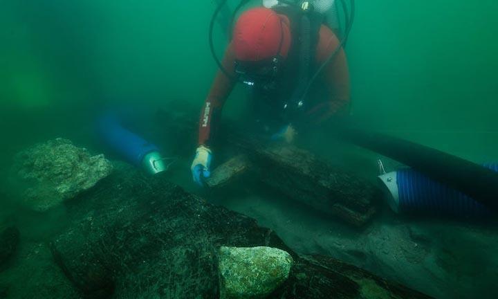 Varlığı ispatlanamayan gemi tam 2469 yıl sonra bulundu