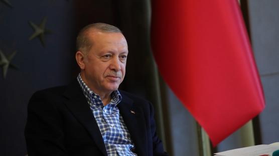 Başkan Erdoğan, A Milli Futbol Takımı ile görüştü