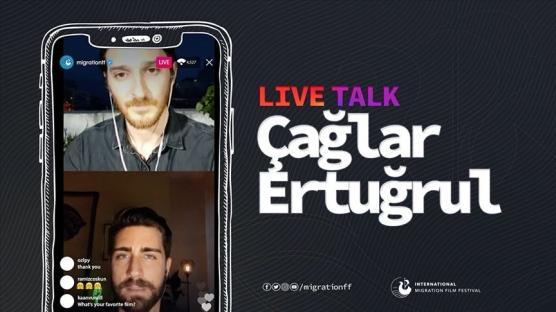 Oyuncu Çağlar Ertuğrul: Türkiye savaştan kaçan insanlara bir sığınma olanağı sağlamış