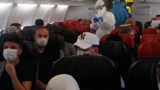 Diyarbakır-Ankara uçağında koronavirüs paniği yolcu fenalaştı, karantinaya alındı