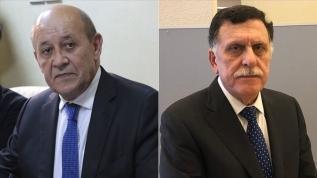 Fransa Dışişleri Bakanı Sarrac ile telefonda görüştü