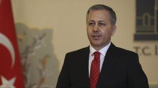İstanbul Valisi Yerlikaya'dan Emniyet Müdürü Aktaş'a hayırlı olsun ziyareti
