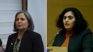 HDPKK'nın başkanları Kışanak ve Tuncel hakim karşısında
