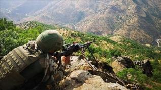 MSB: Avaşin'de 1 PKK'lı terörist etkisiz hale getirildi