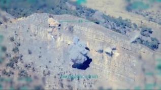 MSB, F-16'ların terör yuvalarını imha ettiği görüntüleri paylaştı