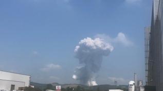 Sakarya Hendek'te havai fişek fabrikasında patlama meydana geldi