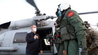 Bakan Akar'dan net Libya mesajı: Vazgeçmemiz söz konusu değil