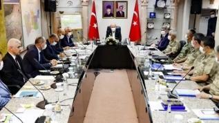 Bakan Soylu başkanlığında güvenlik toplantısı yapıldı