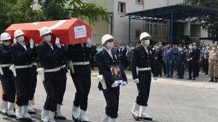 Batman'da, tedavi gördüğü hastanede 5 ay sonra şehit olan polis memurunun cenazesi Nazilli'ye getirildi