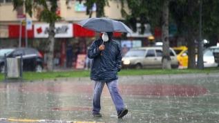 Meteorolojiden bazı bölgeler için sağanak yağış uyarısı