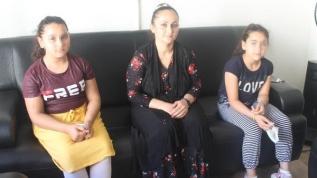 Sinop'ta icra yoluyla alınan çocuklar, anneye verildi