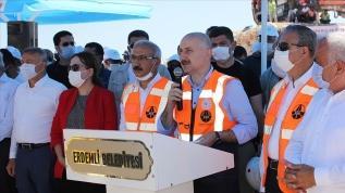 Bakan Karaismailoğlu Mersin'deki yol çalışmalarını inceledi