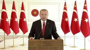 Hidroelektrik Üretim Tesislerinin Toplu Açılış Töreni'nde konuşan Başkan Erdoğan: Mücadele ederek söke söke alacağız