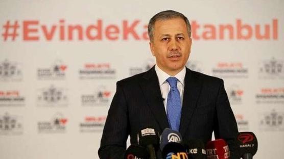 İstanbul Valisi Ali Yerlikaya'dan vatandaşlara temizlik, maske ve sosyal mesafe uyarısı