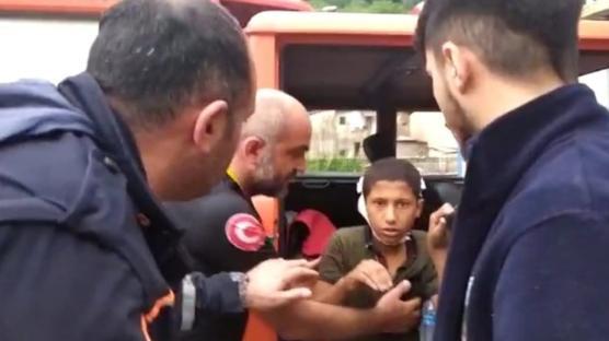 Rize'de pikniğe gittikten sonra kaybolan 11 yaşındaki çocuk bulundu