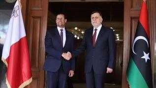 Libya Başbakanı Serrac Malta Başbakanı Abela ile görüştü