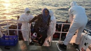 Yunanistan geri itti, 65 sığınmacıyı Türkiye kurtardı