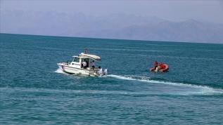 Van'da batan teknenin yeri tespit edildi