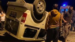 Zırhlı polis aracına çarpan ticari aracın sürücüsü öldü