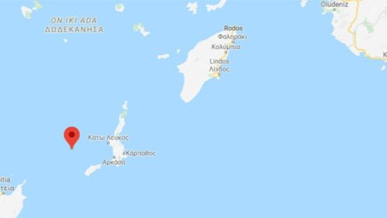 Akdeniz açıklarında 4,1 büyüklüğünde deprem meydana geldi