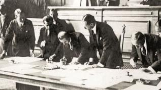 24 Temmuz 1923'te Lozan'a imza atılmıştı