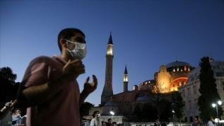 AK Parti Gençlik Kollarından 'Ayasofya' için şükür duası
