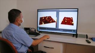 Kovid-19'u üç boyutlu görüntüleyen Türk bilim insanlarının yeni hedefi