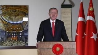 Başkan Erdoğan'ın konuşması sırasında dikkat çeken 3 detay