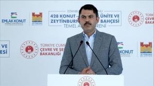 Çevre ve Şehircilik Bakanı Kurum: Cennet vatanımızın yüzde 66'sı deprem riski altında