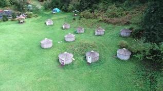 Gelen gitmiyor! Oba kültürünün yaşatıldığı kamp alanına tatilci ilgisi