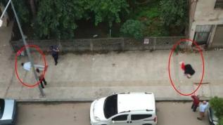 Sokak ortasında önce sevgilisini sonra kendini vurdu