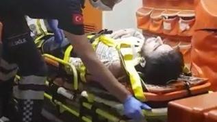 Otomobil ile elektrikli bisiklet çarpıştı: 5 Yaralı