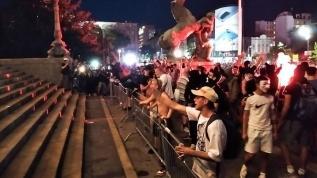 Sırbistan'daki hükümet karşıtı protestoların dördüncü günü olaylı geçti