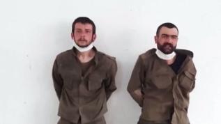 Erzurum'da yakalanan 2 teröristten biri gri listede olduğu ortaya çıktı