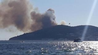 İstanbul Valisi Yerlikaya, yangının kontrol altına alındığını duyurdu