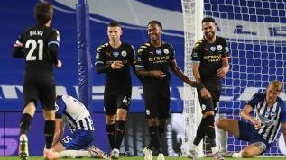Manchester City deplasmanda farklı kazandı