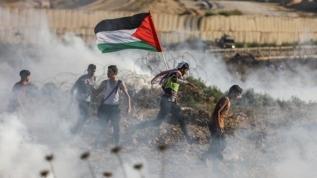 Katil İsrail Gazze'de 6 Filistinliyi öldürdü