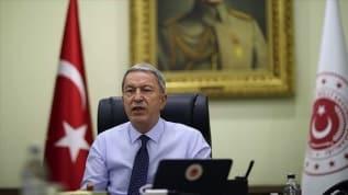 Bakü'den Ankara'ya kritik ziyaret! Bakan Akar'dan Ermenistan'a sert tepki
