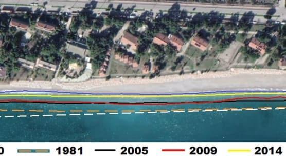 Dünyaca ünlü sahilde bir havluluk yer kaldı