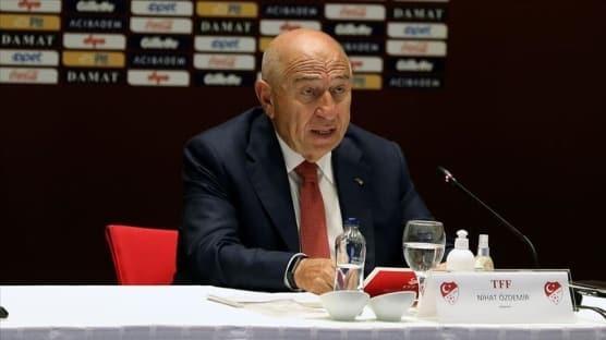 Türkiye Futbol Federasyonu Başkanı Özdemir'den kupa finalinin ardından açıklama